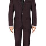 Bloomsbury Red Suit