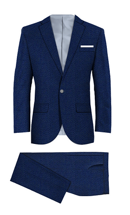 Wapping Blue Suit