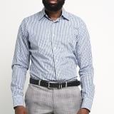 Blue Checkered Shirt