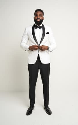 Kingston White Tuxedo