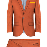 Hackney Orange Suit
