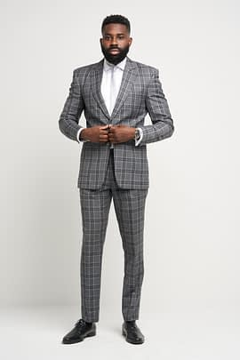 Fulham Gray Suit