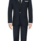 Manor Blue Suit