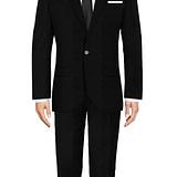 Dartford Black Suit